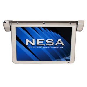 18.5 inch motorised bus coach video monitor