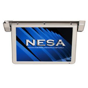 18.5 inch motorised bus coach video monitor