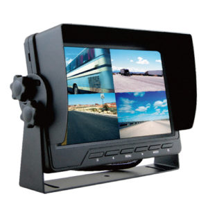 7 inch touchscreen monitor with 4 camera inputs