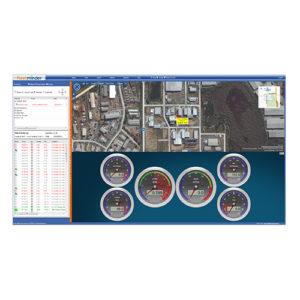 screenshot of live gauges