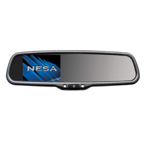 rear view mirror with 4.3 inch monitor