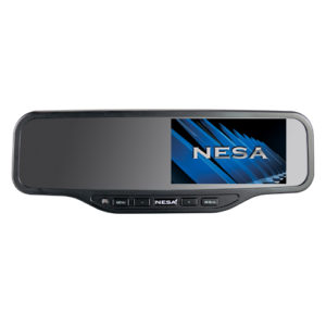 rear mirror with 4.2 inch monitor