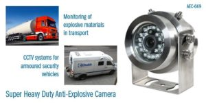 anti explosive camera