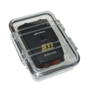 weather proof case with radar detector