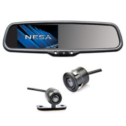 mirror dual mount camera kit