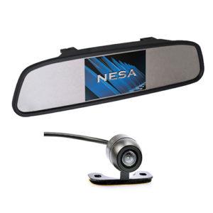 clip on mirror camera kit