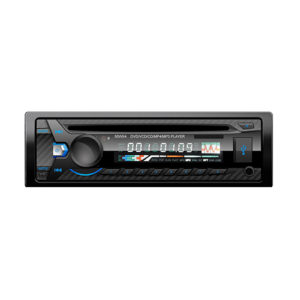 single DIN dash mount DVD and CD player with USB input