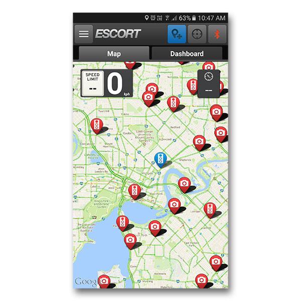 Escort Max 360c International - Radar & Laser Detector