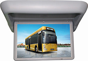 NESA NSB-1909M motorized bus video monitor screen HDMI input