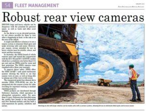 AMR rear view camera nesa