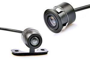 NESA CCD-Dual170 reverse camera flush mount or butterfly