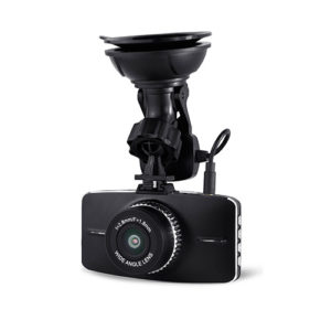 front view with mount dual camera dash cam