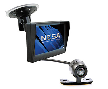 NESA CK-CMD-40WM car camera system with video monitor