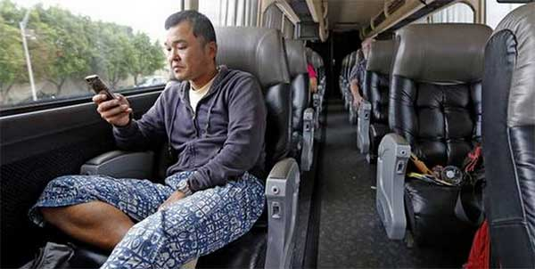 coach and bus entertainment system for passengers