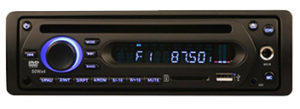 DVM-612 Bus and coach DVD media player single DIN
