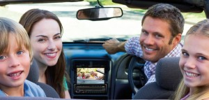 entertainment in car family