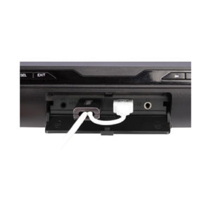 front ports of headrest dvd player