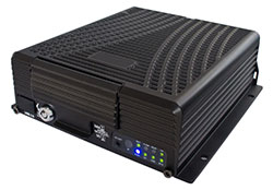 Multi channel mobile dvr with video streaming and GPS