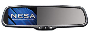 NESA NSR-43R video mirror monitor screen replacement