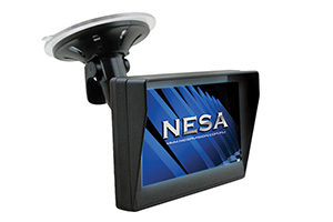 NESA NSM-40WM reverse monitor windscreen vehicle mount