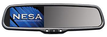 NESA NSR-43R reversing mirror video monitor