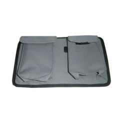 sun visor pouch for radar detector