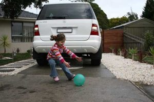Vehicle reverse camera pretection from hidden dangers