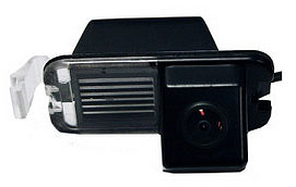 Reversing camera replacement for licence plate housing